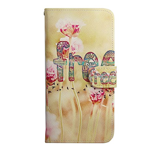 Ancerson Multi-Colored PU Pelle Patta Borsa Custodia Protettiva per Apple Iphone 6 Plus 5.5 pollici inch In Pittura ad Olio Stil Colorful Painting Flip Case Custodia in pelle sintetica custodia cover  frei