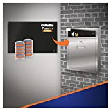 Gillette Fusion Power Rasierklingen für Männer 8 Ersatzklingen, Briefkastenfähige Verpackung