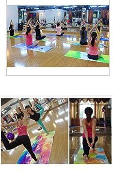 Dicke Rutschfeste Yoga Handtücher, Rutschfest Saugfähig Und Hitzebeständig Doxungo Premium Yogatuch, Yoga Towel Mit Dem Verschiedenen Und Schönen Druck (P) 5