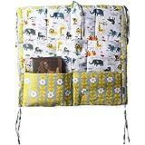 Chinatera Baby Boy's Bed Crib Nursery Diaper Hanging Organizer Storage Bag Stacker with Pockets Free Size 2#