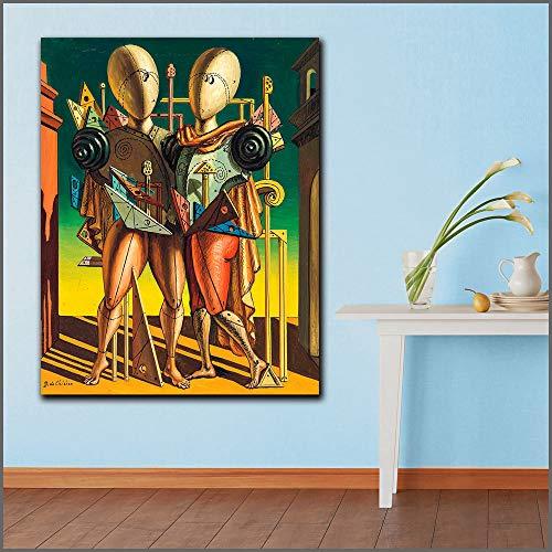 YuanMinglu Große Mode Druck ölgemälde auf dem Wohnzimmer Dekoration leinwand Kunst rahmenlose malerei 72x96 cm