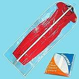 Hangerworld 152cm (60') vestido/traje para la ropa bolsas, PACK de 6