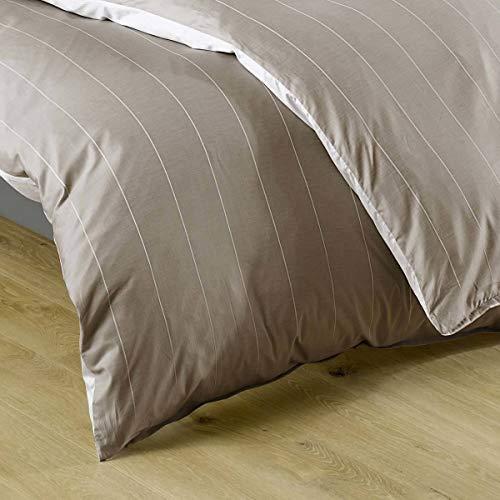 Lorena Textil Monaco Kissen Baumwolle (beige, 40 cm x 80 cm) - 3