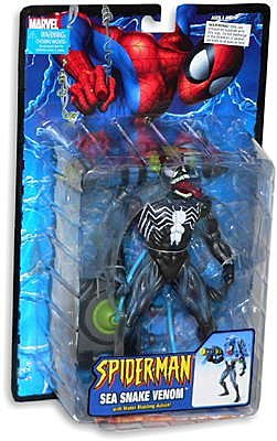 Sea Snake Venom Spiderman