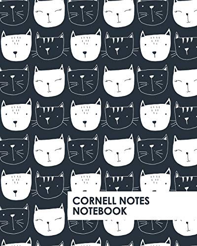 Cornell Notes Notebook: Black Cat Collection notebook supports a proven way to improve study and information retention. (Cornell Lined Notes Notebook, Band 1)