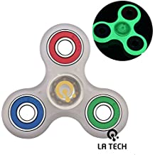 LA TECH - Fridget Spinner jouet jouet a main Spinner pour ADD ADHD Fidget main Spinner Toy Reducteur de stress EDC Jouet Focus Multicolor