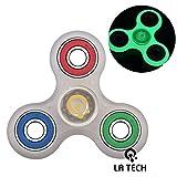 La Tech® mains & Spinner Cube Jouet Réducteur de Stress – Parfait pour ajouter, ADHD, l'anxiété, et l'autisme pour adulte enfant (Multicolore 1)