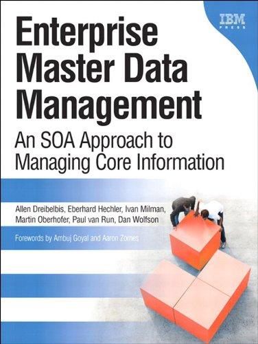 Enterprise Master Data Management: An SOA Approach to Managing Core Information (IBM Press)