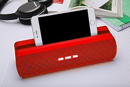 65aaa2d32c0c Wireless Bluetooth Speaker 206 Cell Phone Holder Style Portable Superb  Stereo Audio Longer Play Time