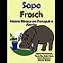 """História Bilíngue em Português e Alemão: Sapo - Frosch (Série """"Aprender alemão"""" Livro 1) (Portuguese Edition)"""