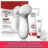 Olay Prox diario Dermatológicos de profundidad kit de limpieza con cepillo de limpieza facial y limpiador