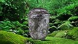 """Biologisch abbaubar Verbrennung Asche Urne–Erwachsene Größe–Slate Design """"Stone"""
