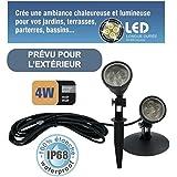 Spot LED 4W étanche IP68