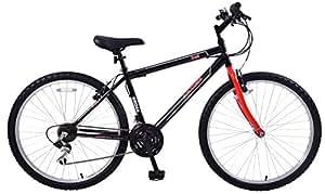 """Cheapest Arden Trail Mens 26"""" Wheel Mountain Bike 21 Speed 16"""" Frame Black & Red"""
