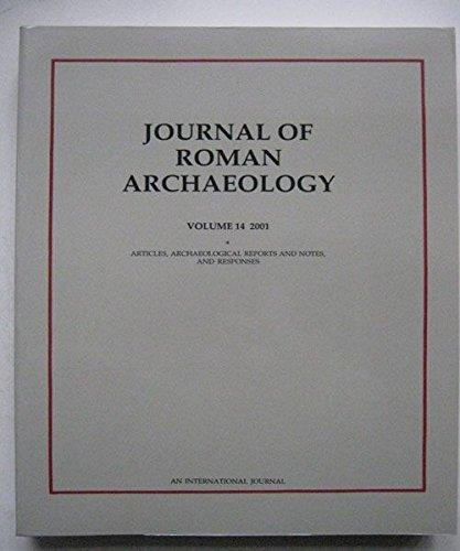 Journal of Roman Archeology 2001: 14 (Journal of Roman Archaeology, V0l 14)