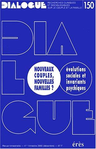Nouveaux couples, nouvelles familles ? par Collectif