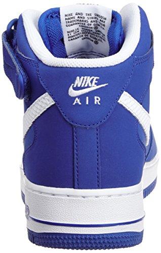 Nike Air Force 1 Mid '07, Basket-ball homme Bleu (Game royal/Blanc)