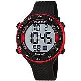 Calypso Señor Reloj de pulsera cuarzo reloj reloj de plástico con Poliuretano banda de alarma Cronógrafo digital todos los modelos K5663, variante: 04