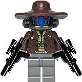 LEGO Star Wars Minifigur Cad Bane mit 2 Blaster NEU NEW aus 8098 8128