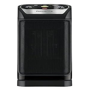 Rowenta Excel Comfort Eco Safe Calentador de ventilador Interior Negro 2000 W – Calefactor (Calentador de ventilador…