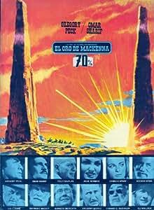 Mackenna's Gold Affiche du film Poster Movie L'or de Mackenna (27 x 40 In - 69cm x 102cm) Spanish Style B
