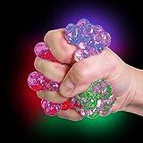 German Trendseller - 1 x Ultra Squishy - Glitzer Quetschball ┃ Neu ┃ Inkl. Farbwechsel ┃ Mitgebsel ┃ Kindergeburtstag ┃ Anti Stress - Bubble Ball┃ 1 Stück