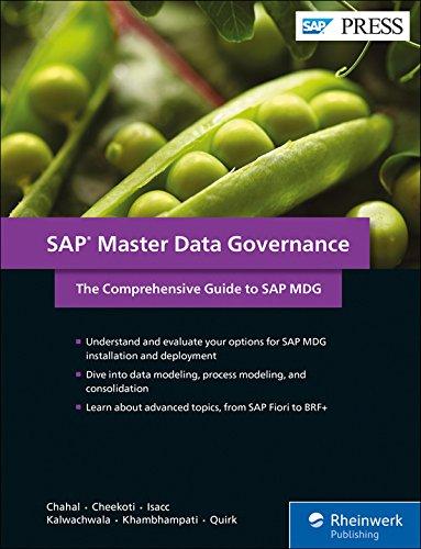 Preisvergleich Produktbild SAP Master Data Governance: The Comprehensive Guide to SAP MDG (SAP PRESS: englisch)