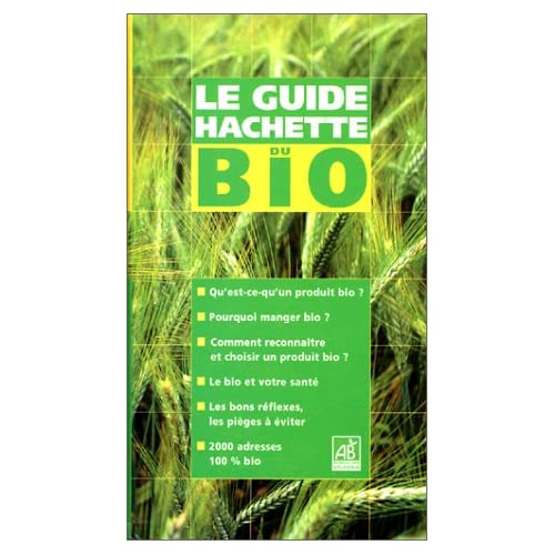 Le Guide Hachette du Bio