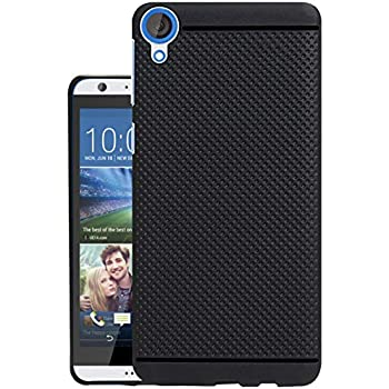 new style 0fd93 c910d Jkobi® Classic Dotted Designed Soft Rubberised Back Case Cover for HTC  Desire 820 / 820G+ Dual Sim - Black