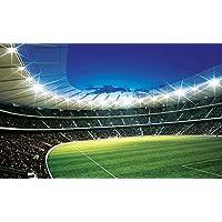 DISNEY LICENCE 323P8 stadio calcio Sport Carta da parati-Decorazione da parete, Multicolore, 368 x 254 cm