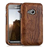kwmobile Holz Hülle für Samsung Galaxy Xcover 3 Case