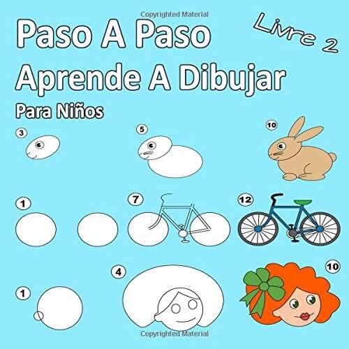dia del libro kawaii Paso A Paso Aprende A Dibujar Para Niños Libro 2: Imágenes simples, imitar según las instrucciones, para principiantes y niños