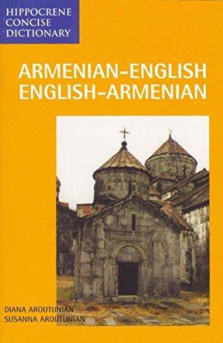 Armenisch - Englisch und Englisch - Armenisch Wörterbuch/Armenian - English and English - Armenian Dictionary: 9000 Stichwörter (Livre en allemand) par Diana Aroutunian