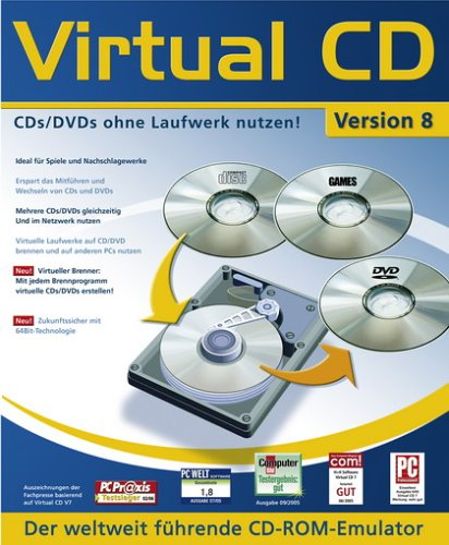 Virtual CD Version 8