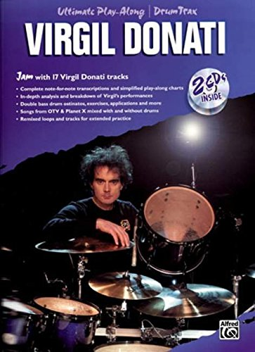 Virgil Donati: Ultimate Drum Play-Along (Book and 2cds) (Ultimate Play-Along)