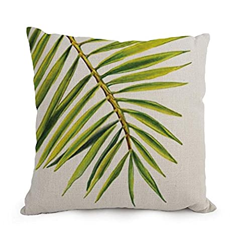Alphadecor Pillow Shams Of Tropical,for Car Seat,gf,drawing Room,boys,home Office,car 18 X 18 Inches / 45 By 45 Cm(twice