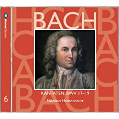 Bach, JS : Sacred Cantatas BWV Nos 17 - 19