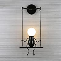 Lámpara de pared moderno Mode aplique decorativo simplicidad Design appliques para habitación infantil estera decorativas Eclairage lámpara casquillo E27* 1Max. 40W