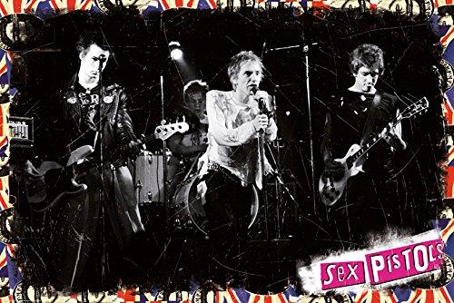 GB eye LTD, Sex Pistols, On Stage, Maxi Poster, 61 x 91,5 cm