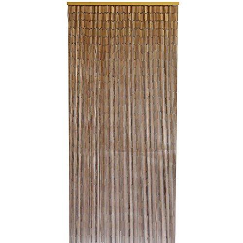 Bambú Natural cortina de puerta-90x 200cm