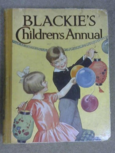 Blackie's children's annual 25th year