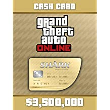 Grand Theft Auto Online | GTA V Whale Shark Cash Card | 3,500,000 GTA-Dollars | PC Download Code