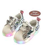 LED Schuhe helle Schuhe, Stillshine - Kinder Jungen-Mädchen-reizende LED helle Schuh-Turnschuhe Halloween-Weihnachtsgeschenk (24, Stil 3)