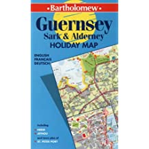 Guernsey, Sark and Alderney (Collins Holiday Map)