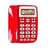 Behoben Schnurgebundenes Telefon Festnetzanschluss Batterie Frei Erhöhen Büro Handel Telefon zu Hause