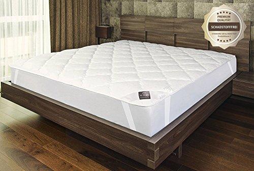 sei Design Extra-Weicher Premium Matratzenschoner | Unterbett 90x200 cm. Perfekter Matratzen-Schutz für Mehr Hygiene und Schlafkomfort.