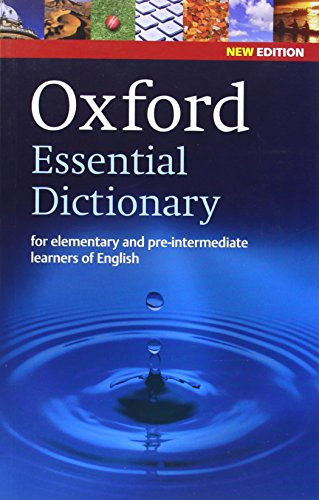 Oxford Essential Dictionary New Edition For Elementary And Pre Intermediate Learners Of English Pdf Online Dorianadam
