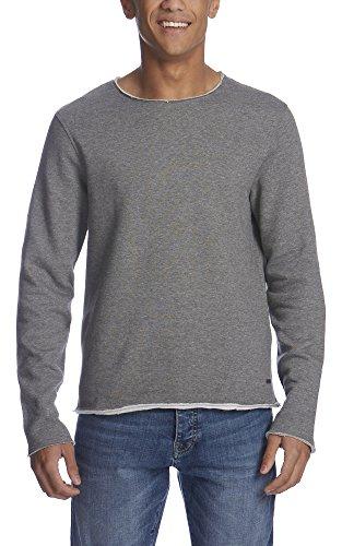 Bench Herren Sweatshirt Occasional Grau (Mid Grey Marl GY001X)