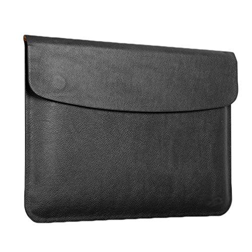 YiJee MacBook Air / Pro Laptop Hülle Notebook Tasche Schutzhülle Aktentasche 11.6 Zoll Schwarz