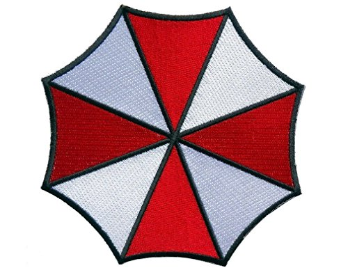 Umbrella Logo Umbrella Corporation Resident Evil Giacca Cosplay termoadesiva